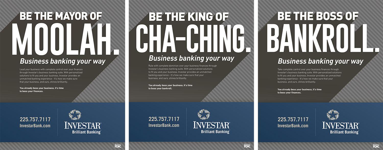 Investar | 2017 Print Ads