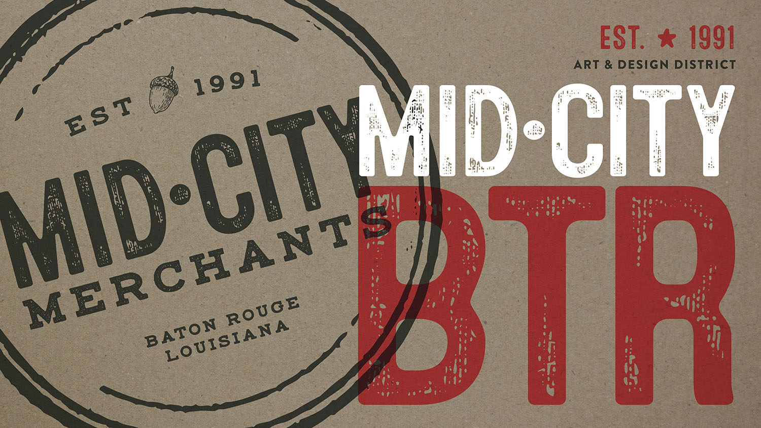 Mid-City Merchants | Branding
