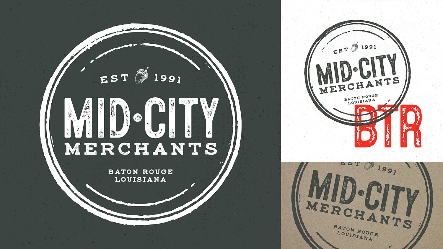 Mid-City Merchants | Logos