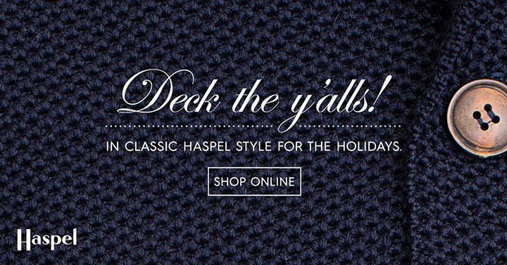 Haspel | Deck the Y'alls! Banner