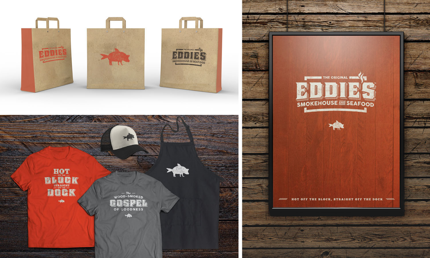 Eddies Smokehouse & Seafood | Swag