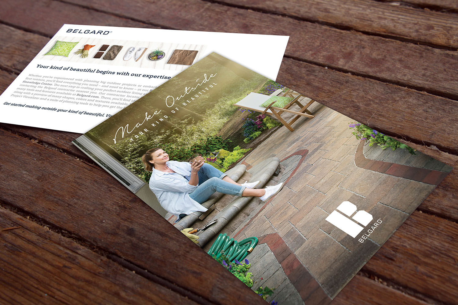 Belgard | 2016 Make Outside Postcard Mockup