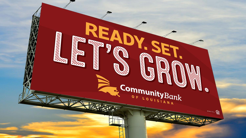 CBLA | Billboard: Ready. Set. Let's Grow.