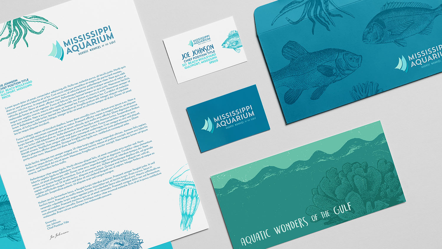 Mississippi Aquarium | Collateral