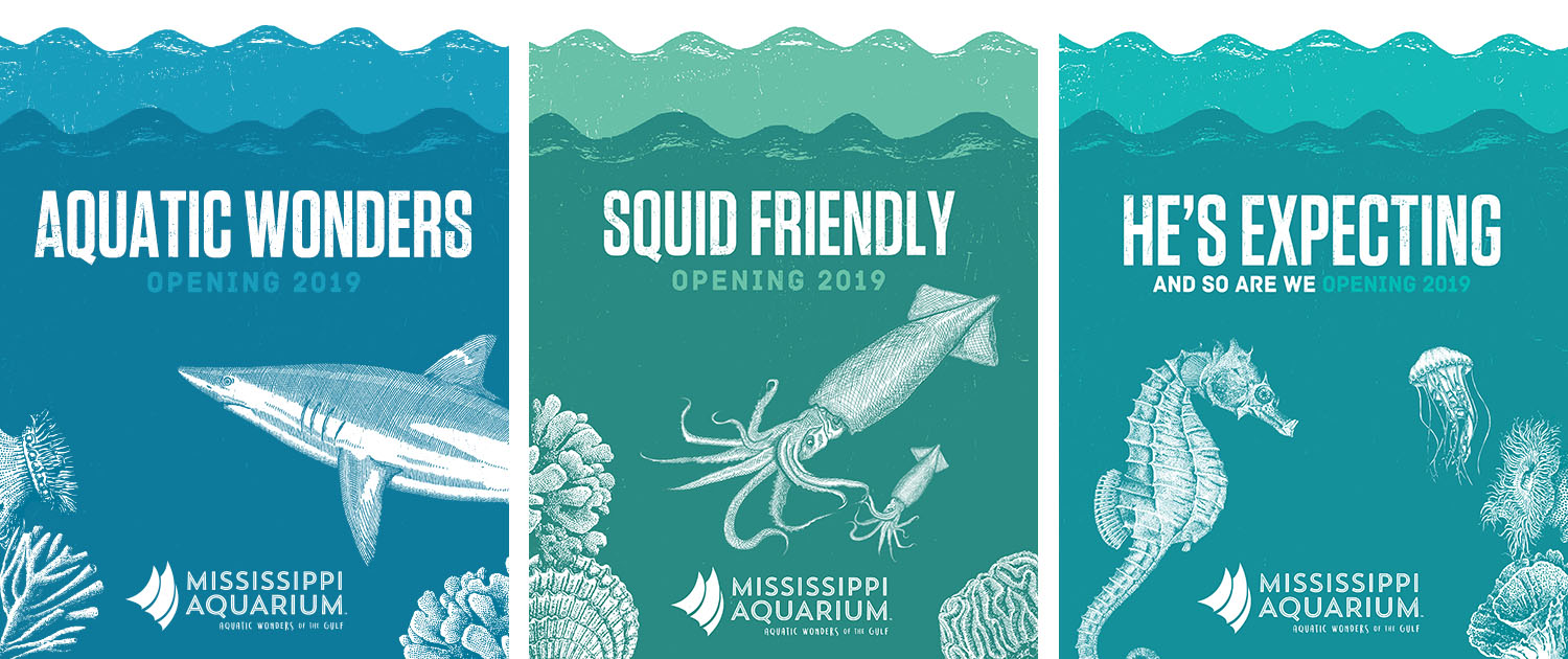 Mississippi Aquarium | Print Ads