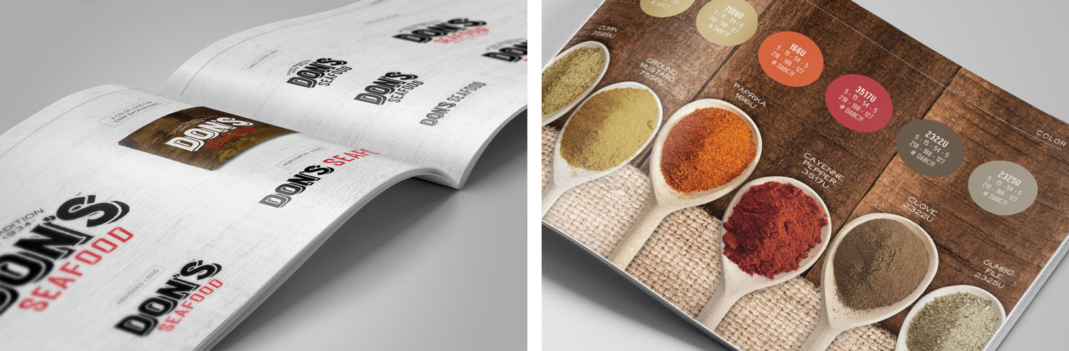 Don's Seafood | Brand Book