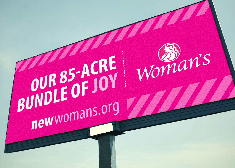 Woman's Hospital | Billboard: 85-Acre Bundle of Joy