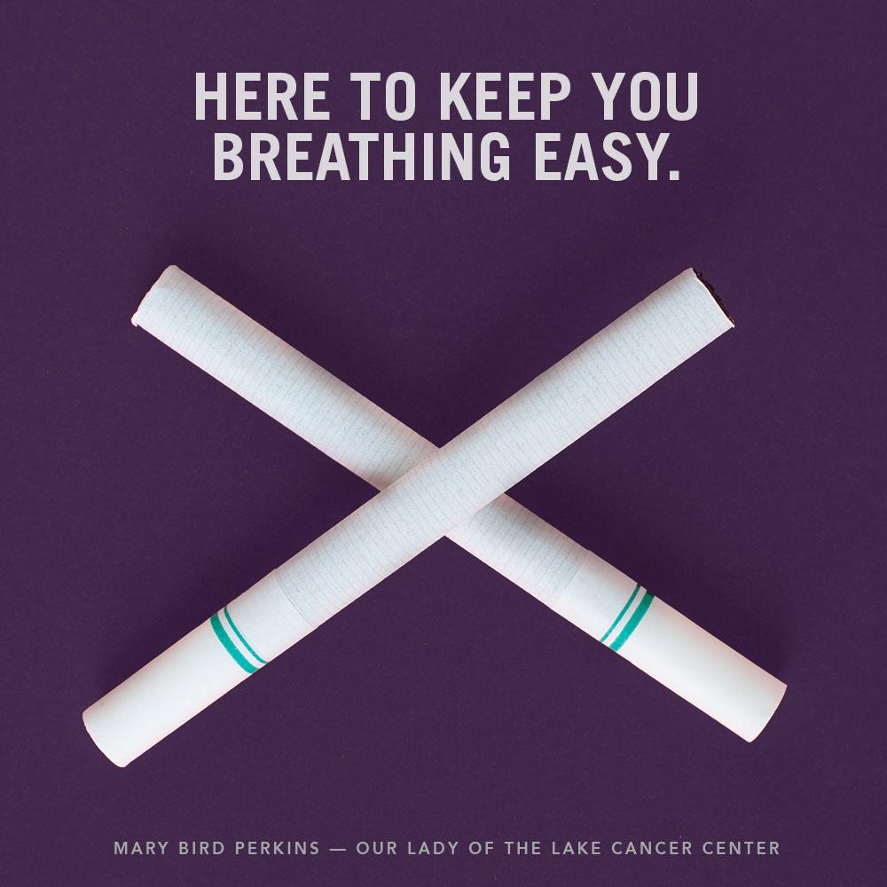 Mary Bird Perkins | Social Media: Breathing Easy