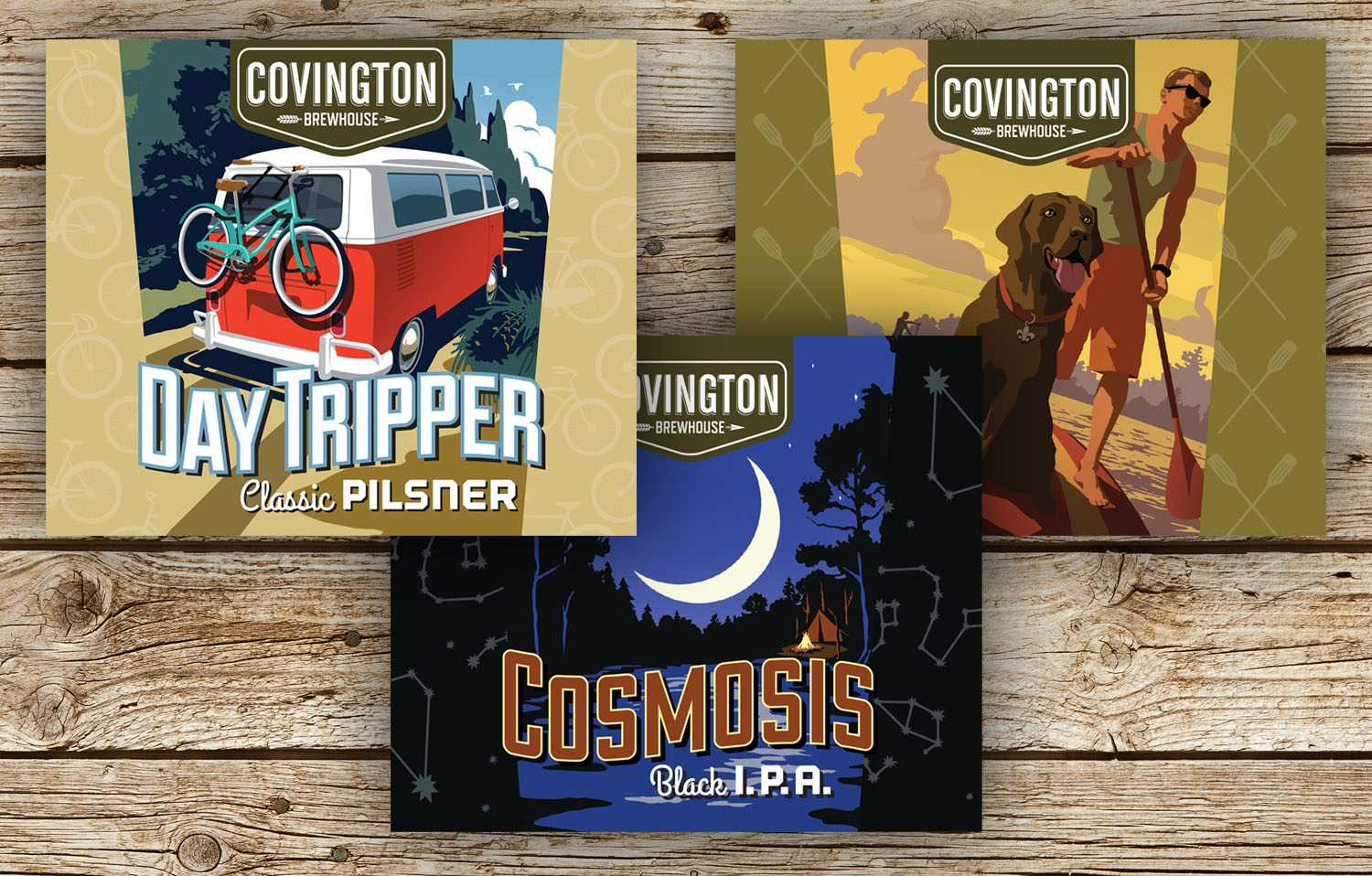 Covington Brewhouse | Labels