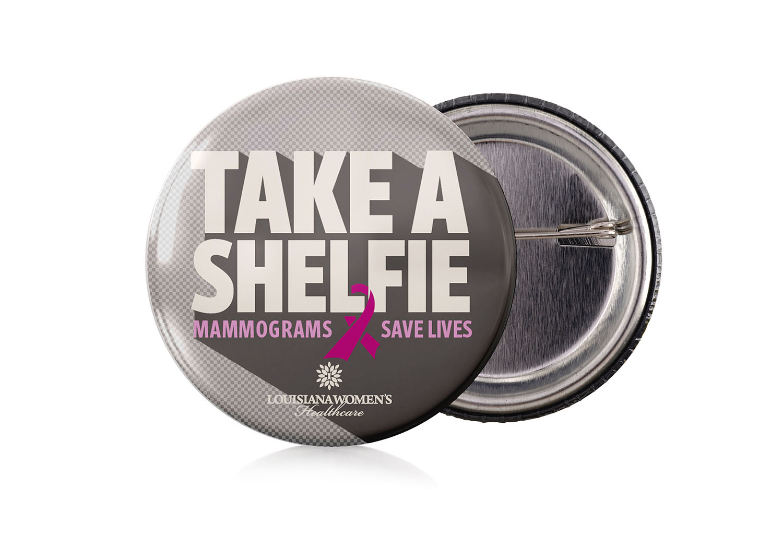Take a Shelfie | Button