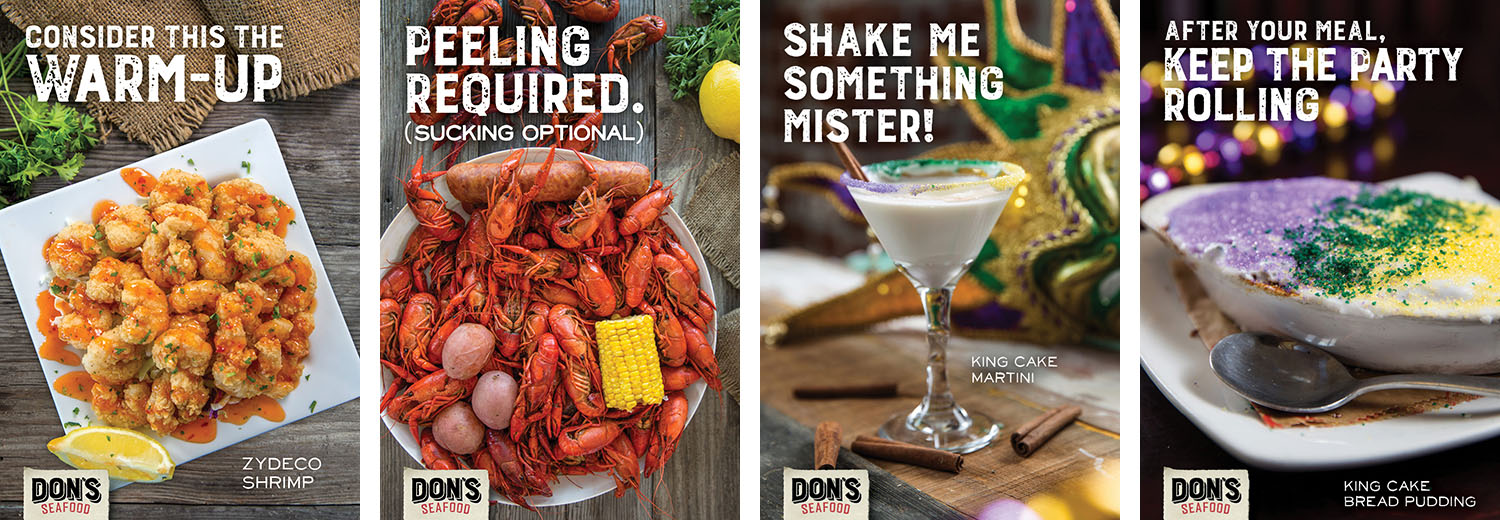 Don's Seafood | Print Ads