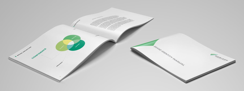 Horizon Financial Group | Brand Deck Spread