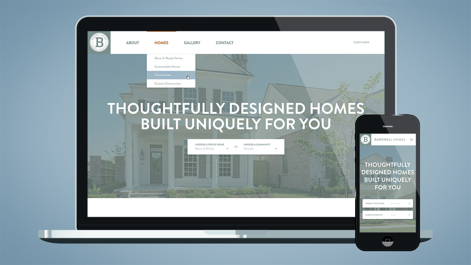 Bardwell Homes | Website Homepage