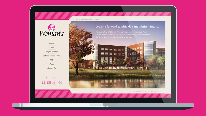 Woman's Hospital   Website