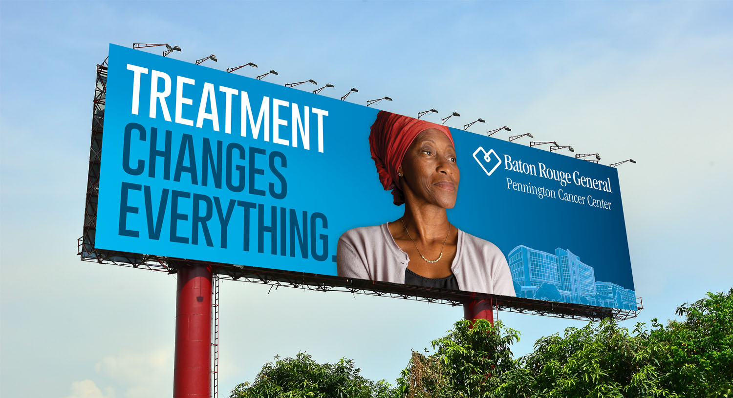 Baton Rouge General | Billboard Treatment