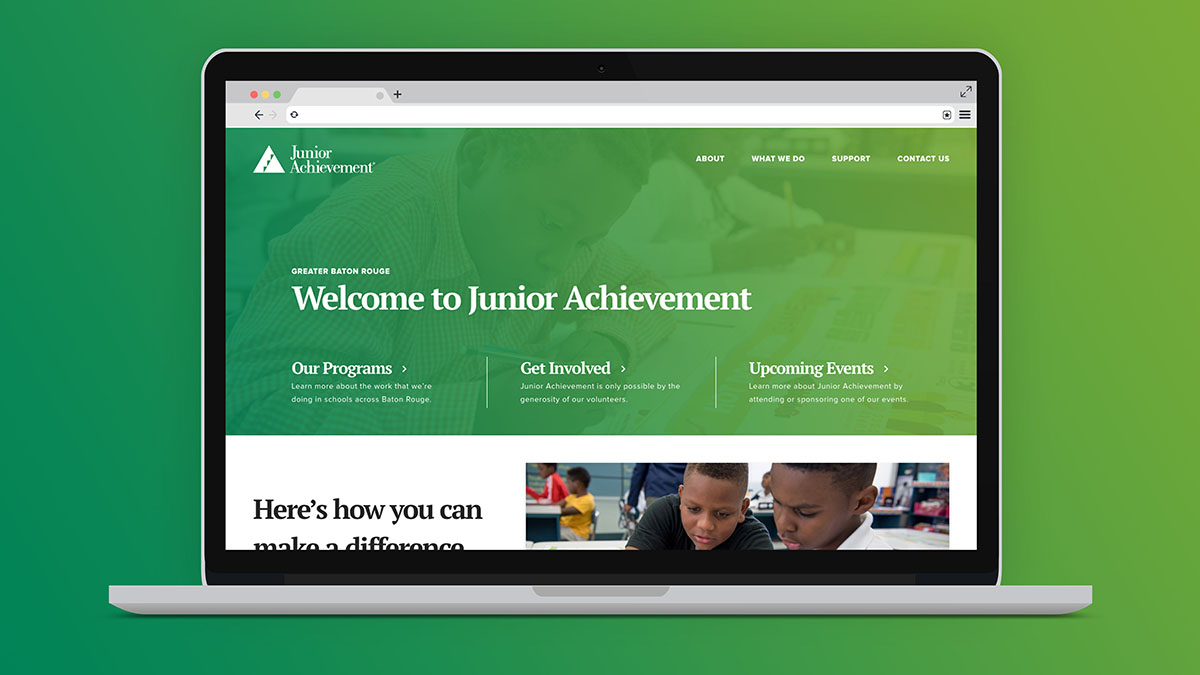 Junior Achievement | Website 1