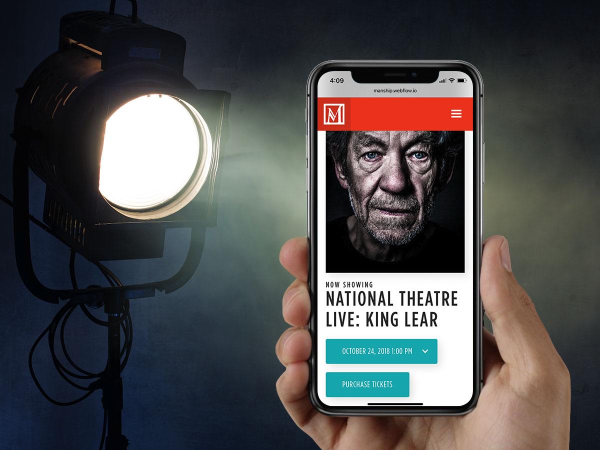 Manship Theatre | Mobile Event