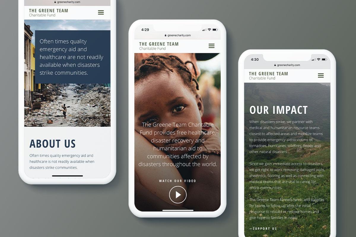 Greene Team Charitable Fund | Mobile