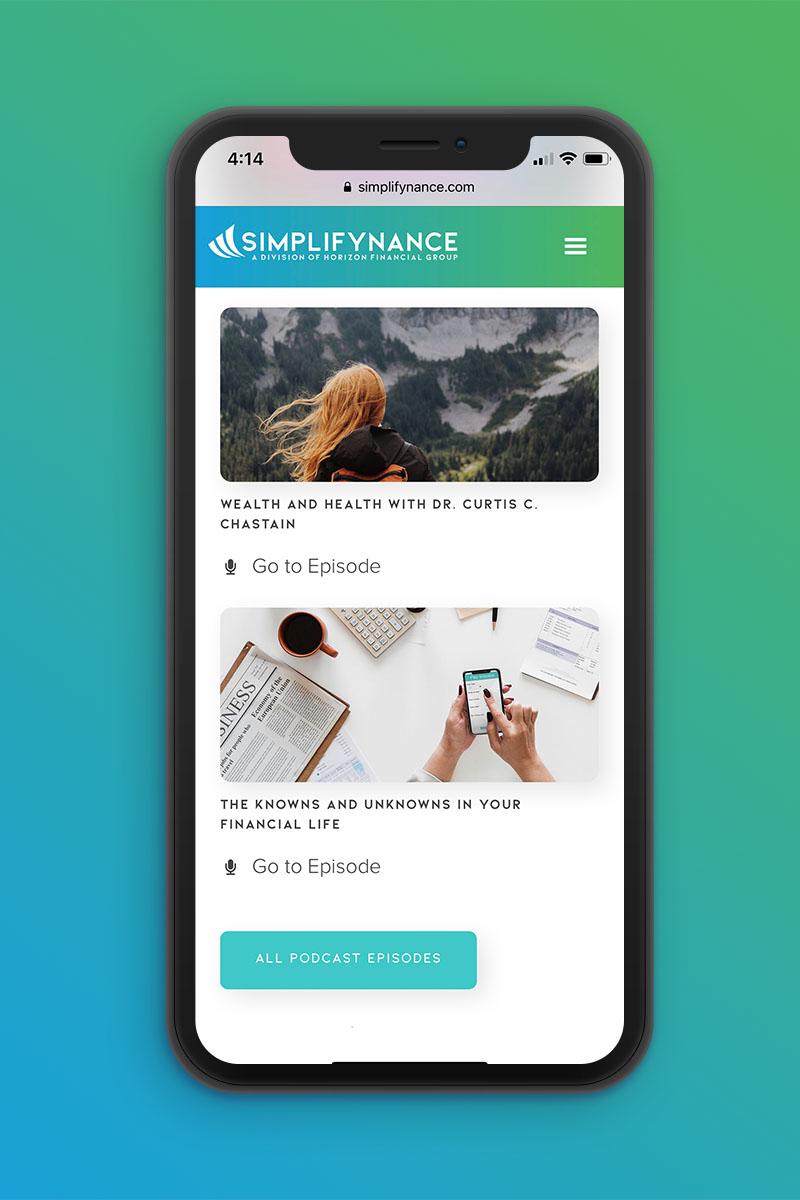 Simplifynance | Mobile 2