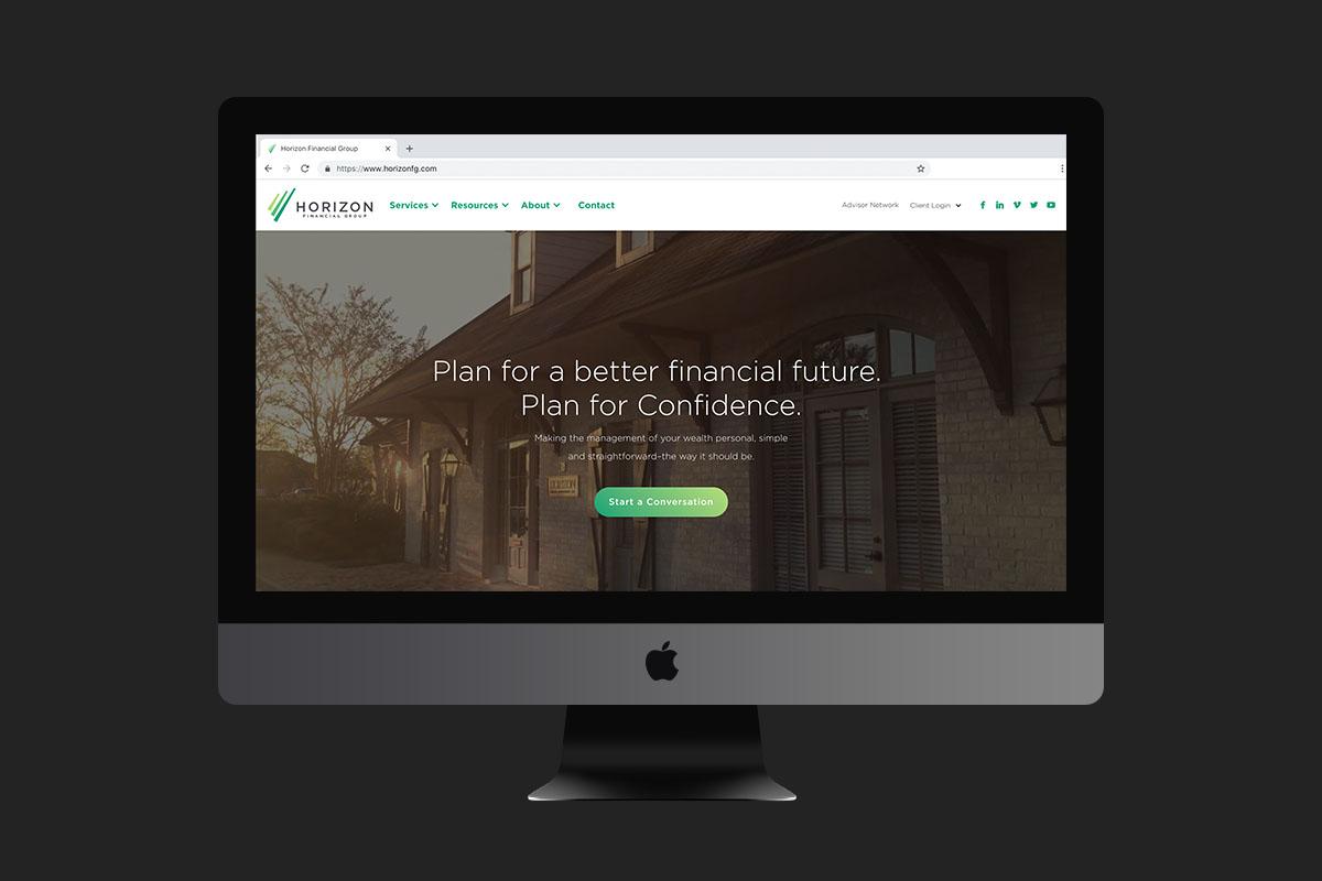 Horizon Financial Group | Desktop