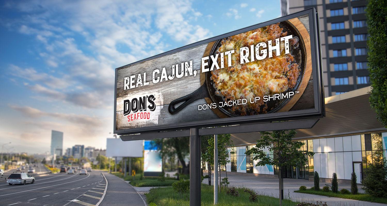 Don's Seafood | Outdoor: Real Cajun