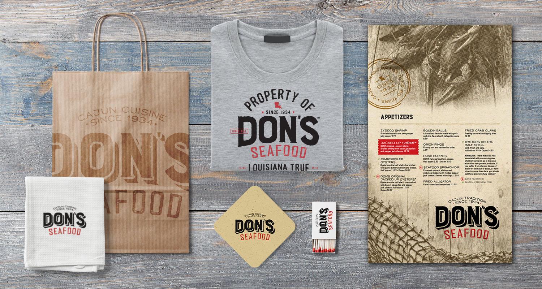 Don's Seafood | Menu