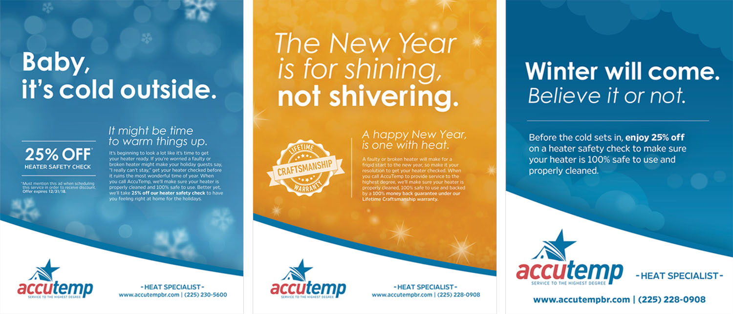 AccuTemp | Print Ads