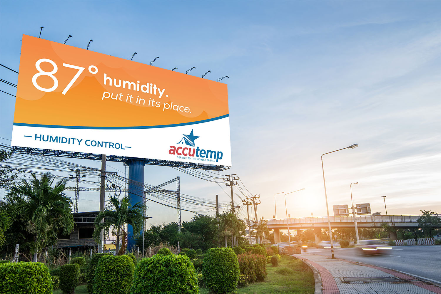 AccuTemp | Billboard: 87 and Humid