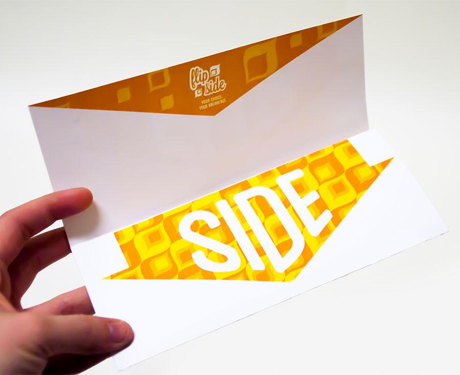 Flip Side Branding Letterhead