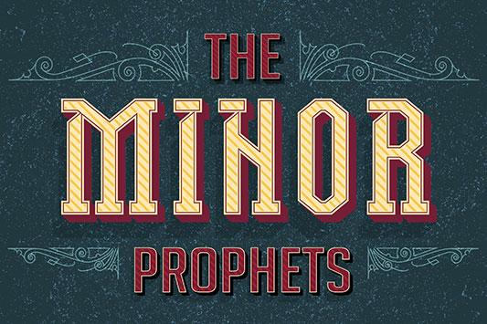 The Minor Prophets Sermon Series