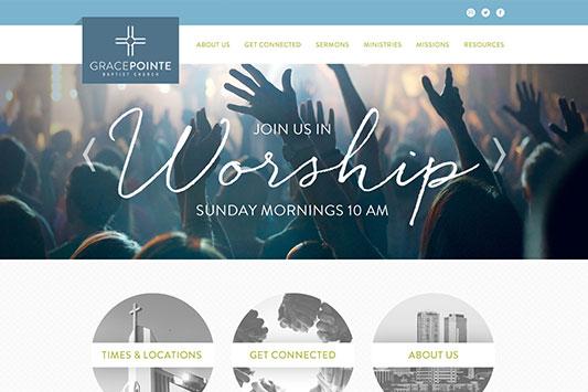 GracePointe Baptist Church Web Design
