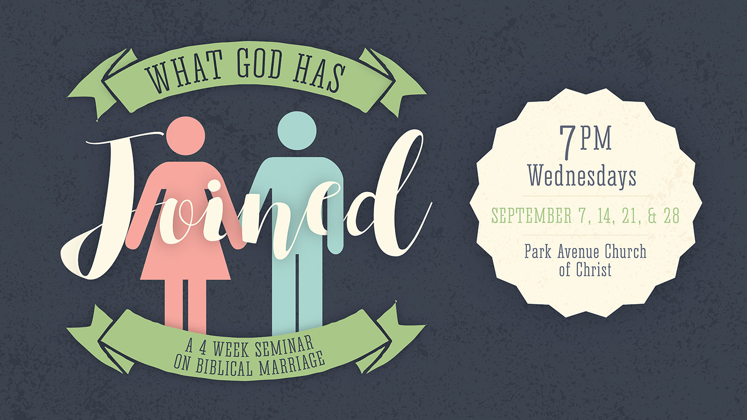 What God Has Joined Marriage Seminar