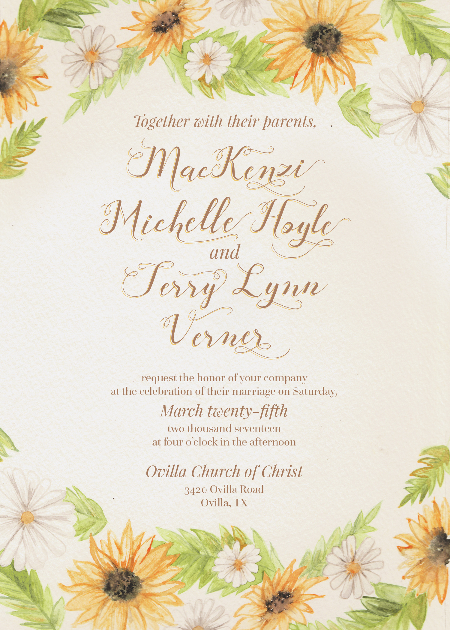 Events and Wedding Invitations