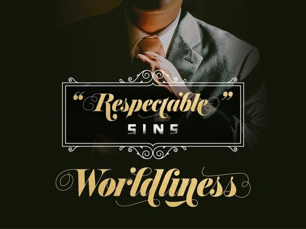 Respectable Sins Sermon Series
