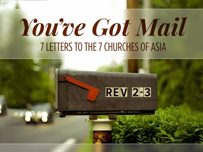 You've Got Mail Sermon Series Title Slide