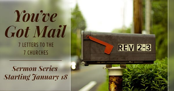 You've Got Mail Sermon Series Website Banner