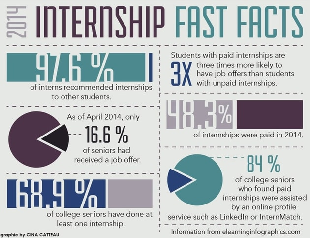 Bison Newspaper Infographics Internship Facts
