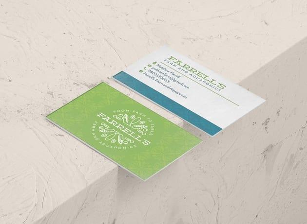 Andare branding envelope