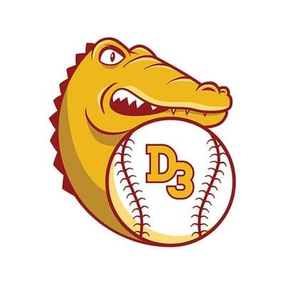 D3 baseball logo