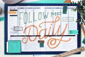 Follow Me Daily Sermon Series Design