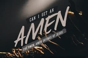 Can I Get An Amen Sermon Series Design