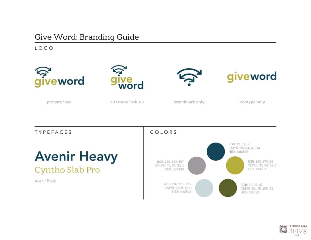 Give Word Branding Guide