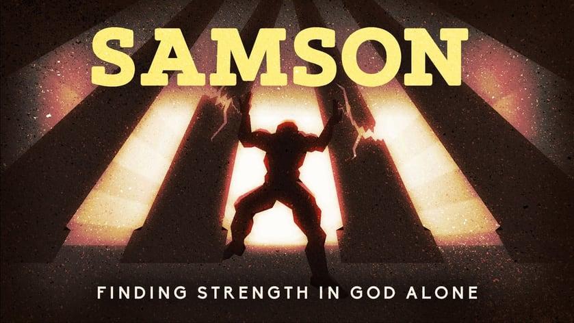 Samson Sermon Series Title Slide