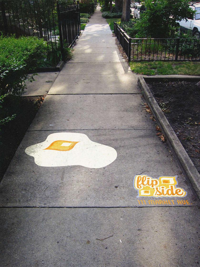 Flip Side Branding Advertisement