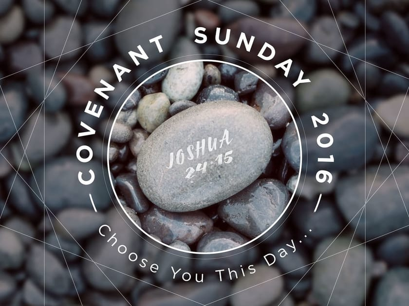 Covenant Sunday Sermon Series Title Slide