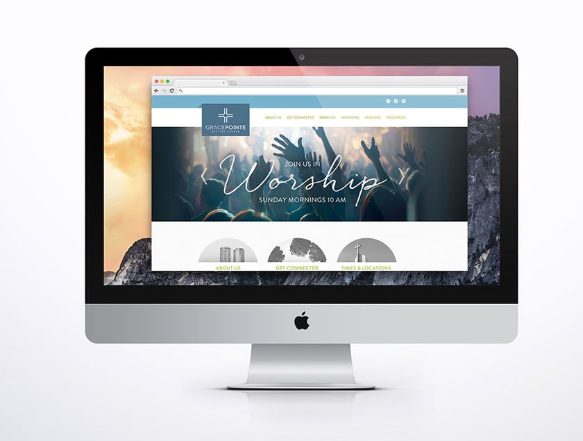 Gracepointe Branding Web Design Website