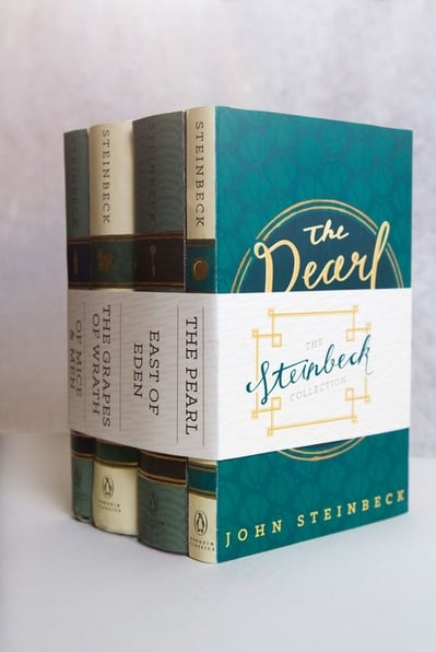 John Steinbeck Book Cover Design The Pearl