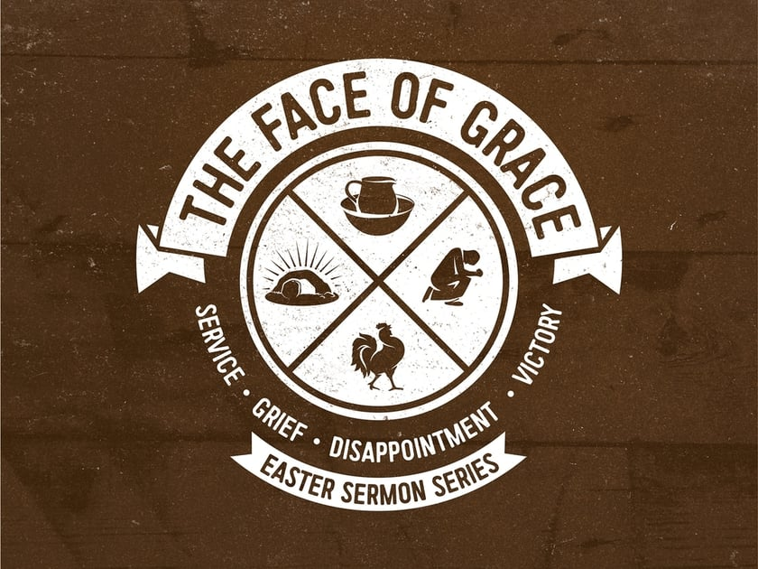 The Face of Grace Sermon Series Title Slide