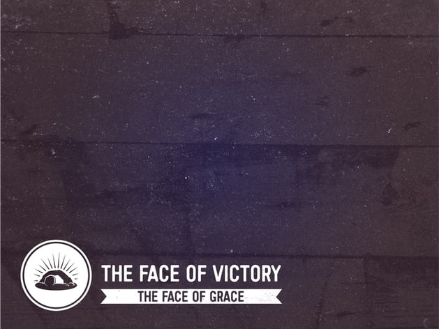 The Face of Grace Sermon Series Content Slide for PowerPoint