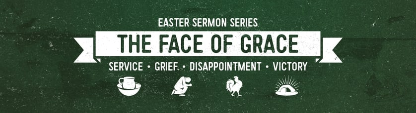 The Face of Grace Sermon Series Website Banner